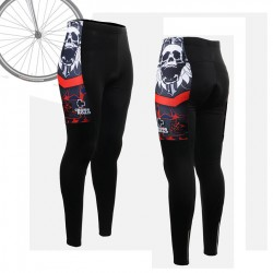 """Skull Star"" WOMAN - FIXGEAR Long Cycling Pants."