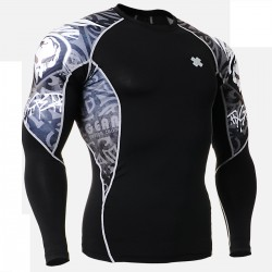 """Alien"" - FIXGEAR Second Skin Technical Compression Shirt ."