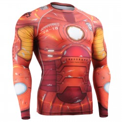"""Iron Fix"" - FIXGEAR Second Skin Technical Compression Shirt ."