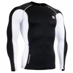 """Yin Yang""  - FIXGEAR Second Skin Technical Compression Shirt ."