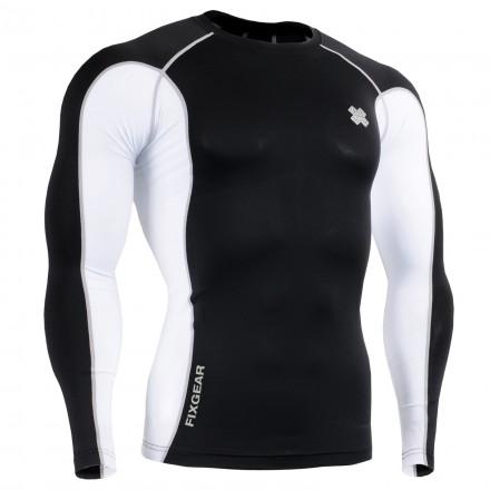 """Yin Yang""  - FIXGEAR Second Skin Technical Compression Shirt ."