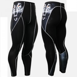 """Canis Lupis"" - FIXGEAR Second Skin Technical Compression Tights ."
