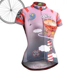 """CSW1602"" WOMAN - FIXGEAR Short Sleeve Cycling Jersey."