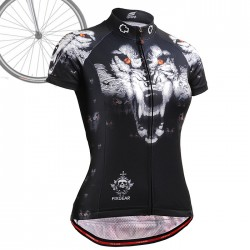 """Wolf Team"" WOMAN - FIXGEAR Short Sleeve Cycling Jersey."