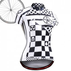 """CSW602"" WOMAN - FIXGEAR Short Sleeve Cycling Jersey."