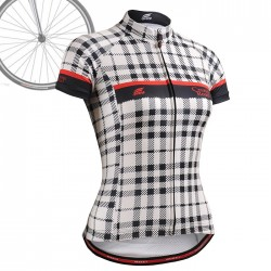 """CSW102"" WOMAN - FIXGEAR Short Sleeve Cycling Jersey."
