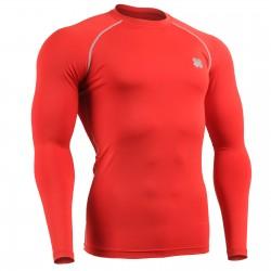 """""""RED FIX"""" Long Sleeve - Camiseta Técnica de Compresión Segunda Piel FIXGEAR"""