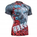 """The Chungo"" FULL Short Sleeve - FIXGEAR Second Skin Technical Compression Shirt - Special MMA Design."
