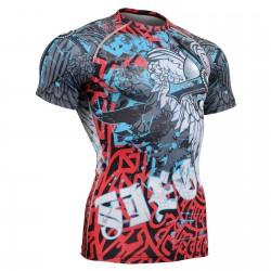 """""""El Chungo"""" FULL Manga Corta - Camiseta Técnica de Compresión Segunda Piel FIXGEAR - Diseño Especial MMA"""
