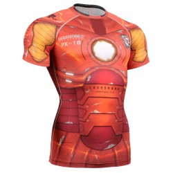 """Iron Fix"" Short Sleeve - FIXGEAR Second Skin Technical Compression Shirt ."