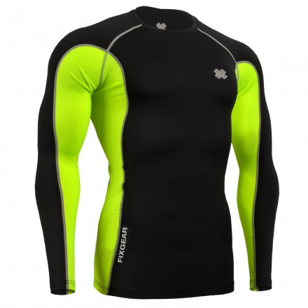 """FCT-BGL""  - FIXGEAR Second Skin Technical Compression Shirt ."