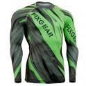 """Splinters"" FULL Green - FIXGEAR Second Skin Technical Compression Shirt ."