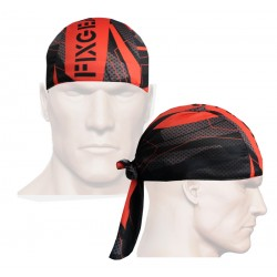 """Splinters"" Red - FIXGEAR Cycling/Running/Training Bandana."