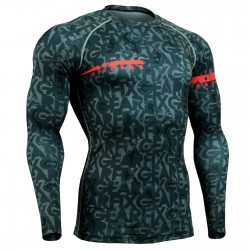 """ENIGMA"" - FIXGEAR Second Skin Technical Compression Shirt ."