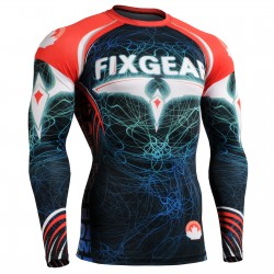 """Light Pilot""  FULL - FIXGEAR Second Skin Technical Compression Shirt ."