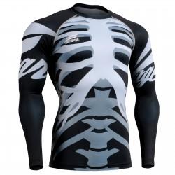 """Bones"" - Camiseta Técnica de Compresión Segunda Piel FIXGEAR."