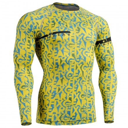 """Chameleon"" - FIXGEAR Second Skin Technical Compression Shirt ."