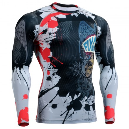 """""""The Comic"""" FULL - FIXGEAR Second Skin Technical Compression Shirt ."""
