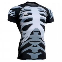 """Bones"" - Camiseta Técnica de Compresión Manga Corta FIXGEAR."