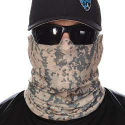 """GREEN DIGITAL CAMO"" Face Shield"