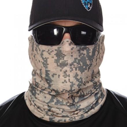 """GREEN DIGITAL CAMO"" Face Shield"