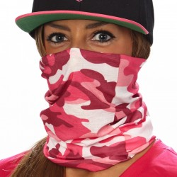 """PINK CAMO"" Face Shield"