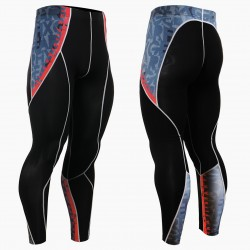 """Enigma"" - FIXGEAR Second Skin Technical Compression Tights ."