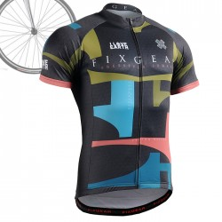 """ONE EARTH"" - FIXGEAR Short Sleeve Cycling Jersey."