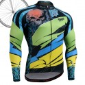"""Laughing Buddha"" - FIXGEAR Long Sleeve Cycling Jersey."