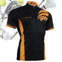 """""""The Tiger"""" - FIXGEAR Short Sleeve 1/4 Zip-up Casual Polo"""