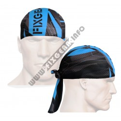 """Splinters"" Cyan Blue - FIXGEAR Cycling/Running/Training Bandana."