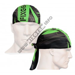 """Splinters"" Green - FIXGEAR Cycling/Running/Training Bandana."