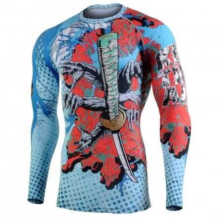 """""""KILL EM ALL"""" - Camiseta Técnica de Compresión Segunda Piel FIXGEAR. EDICION ESPECIAL MMA"""