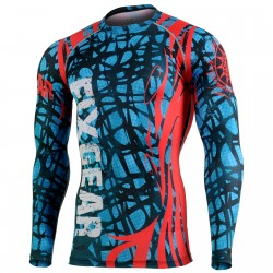 """THE WEB"" - FIXGEAR Second Skin Technical Compression Shirt. SPECIAL MMA EDITION"