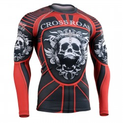"""ARMADURA ROJA"" - Camiseta Técnica de Compresión Segunda Piel FIXGEAR."