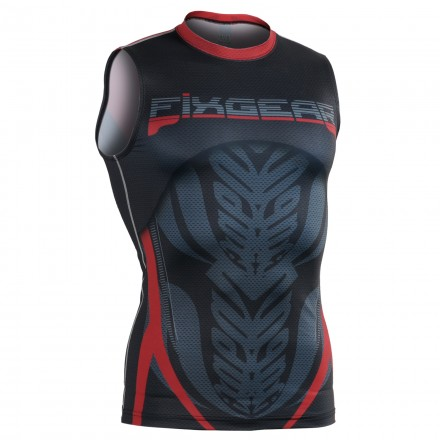 """Icarus"" Sleeveless - FIXGEAR Second Skin Technical Compression Shirt ."