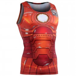 """Iron Fix"" Tank Top - FIXGEAR Second Skin Technical Compression Shirt ."