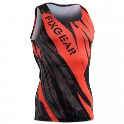 """Splinters"" Tank Top - FIXGEAR Second Skin Technical Compression Shirt ."