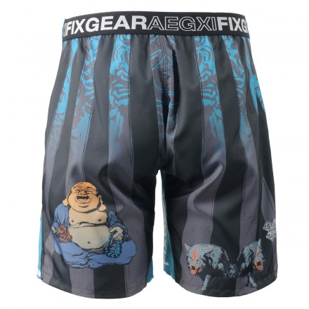 """Laughing Buddha"" - Bermuda/Fight Short/Boxing/Board Short FIXGEAR."