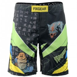 """Laughing Buddha"" Take 2 - Bermuda/Fight Short/Boxeo/Board Short FIXGEAR."