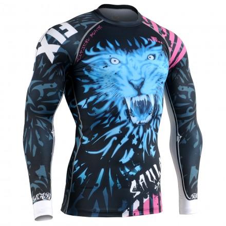 """""""SPECTRE LION"""" - Camiseta Técnica de Compresión Segunda Piel FIXGEAR."""