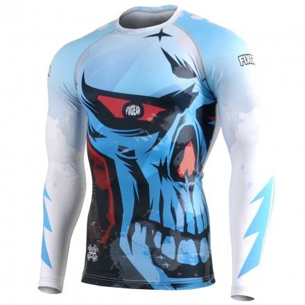 """EVIL EYE"" - FIXGEAR Second Skin Technical Compression Shirt."