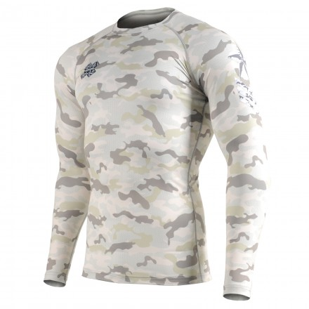 """CAMO Y"" - FIXGEAR Second Skin Technical Compression Shirt."