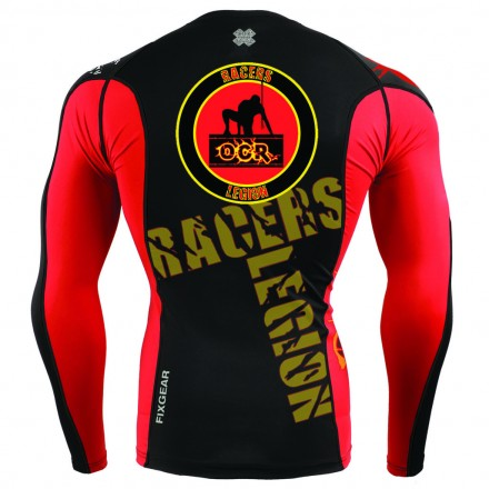 Team Racers Legion OCR Camiseta Técnica Manga Larga