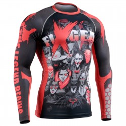 """LEGEND"" - FIXGEAR Second Skin Technical Compression Shirt."