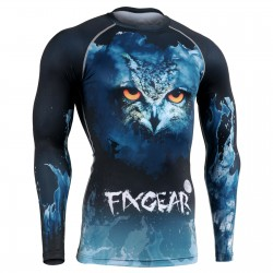 """Night Eyes"" - FIXGEAR Second Skin Technical Compression Shirt."
