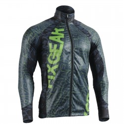 """FLEXFIX BLUE CAMO"" - FIXGEAR Flexible Windbreaker Running Jacket"