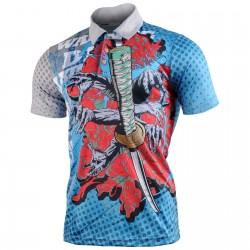 """KILL EM ALL"" - FIXGEAR Short Sleeve 3 Button Casual & Technical Polo"