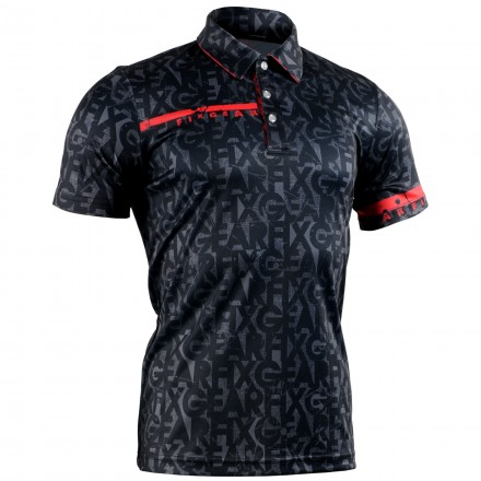 """ENIGMA"" - FIXGEAR Short Sleeve 3 Button Casual & Technical Polo"