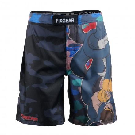 """WTF?"" - Bermuda/Fight Short/Boxing/Board Short FIXGEAR."